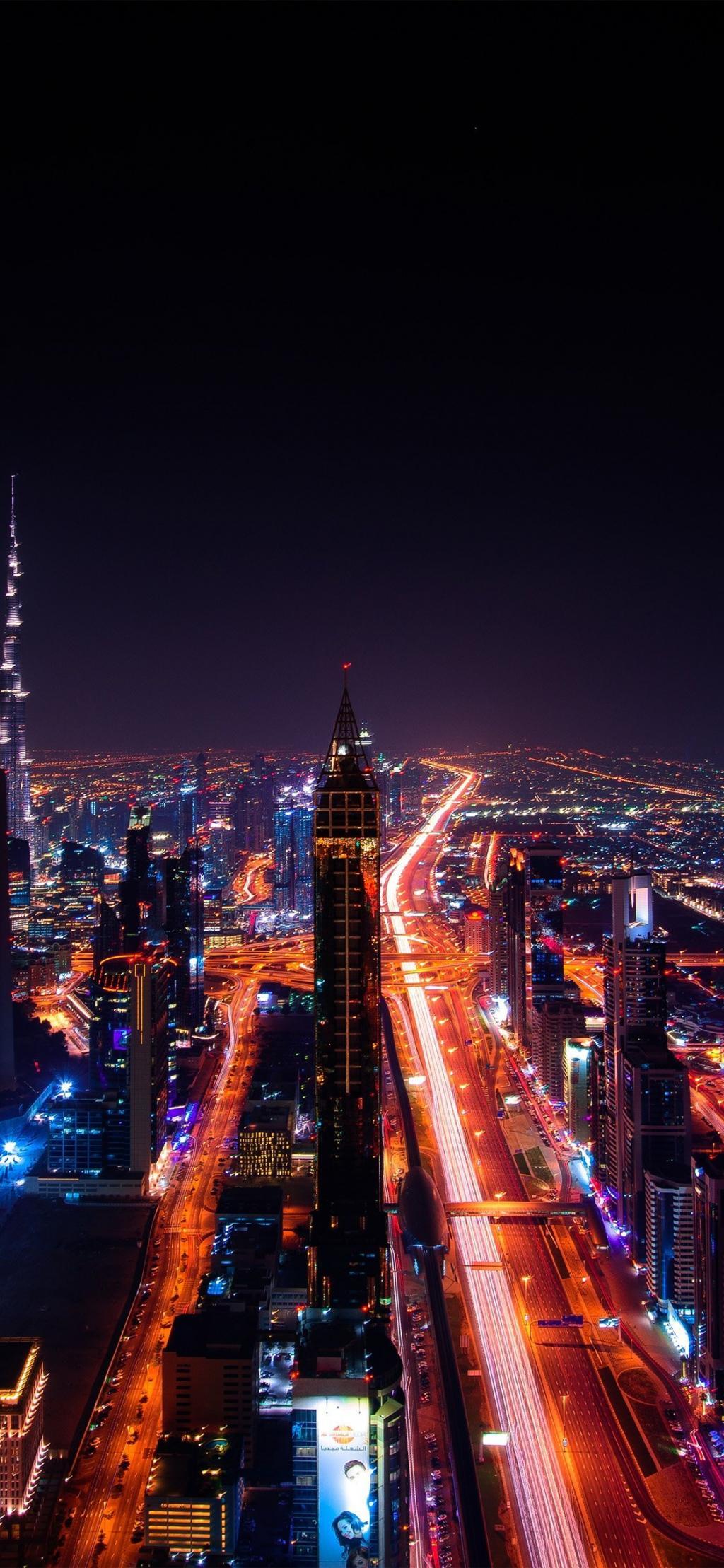 城市唯美夜景iphone X壁纸 锁屏图片 高清手机壁纸 风景 好运图库 风景