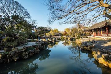 江南古典风格的拙政园
