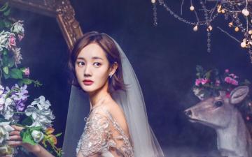 李一桐婚纱写真高清图片-好运图库
