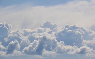 天上的云朵形态高清壁纸-好运图库