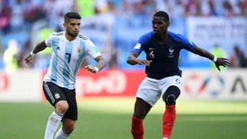 世界杯1/8决赛:法国4-3阿根廷精彩合集