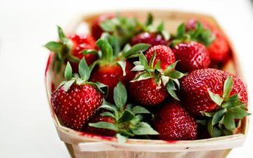鲜艳的美味草莓高清壁纸-好运图库