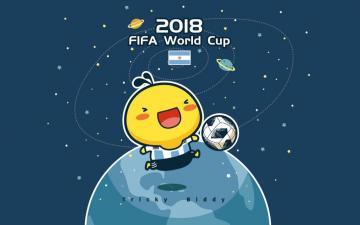 2018油爆叽丁世界杯国家队可爱设计,高清壁纸图片,体育盛会-好运图库