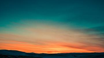 有一种美丽叫夕阳,高清壁纸,风景图片-好运图库