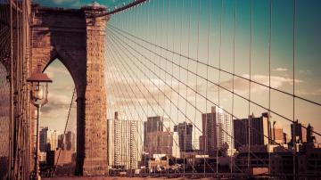 纽约的伟大,从一座叫布鲁克林的桥说起,高清壁纸,风景图片-好运图库