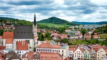 欧洲中世纪最美的小镇-好运图库