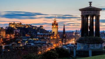 在爱丁堡感受苏格兰的心跳高清图片-好运图库