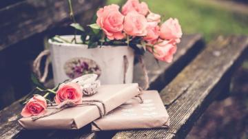 白色情人节礼物,高清壁纸图片,情人节-好运图库