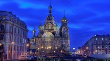 俄罗斯圣母大教堂高清图片-好运图库