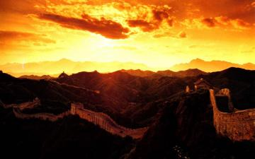 中国长城美景,高清壁纸图片,名胜古迹-好运图库