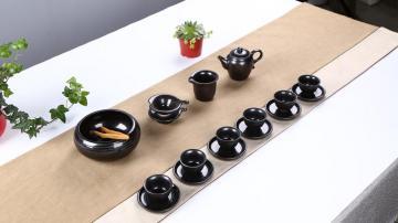 黑天目茶具,高清壁纸图片-好运图库