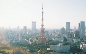 日本东京铁塔高清图片-好运图库