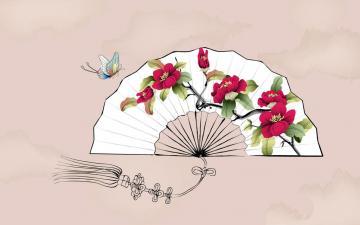 植物花卉水墨画,高清图片,艺术壁纸-好运图库