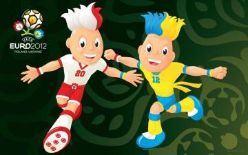 2012欧洲杯吉祥物,高清壁纸图片,足球-好运图库