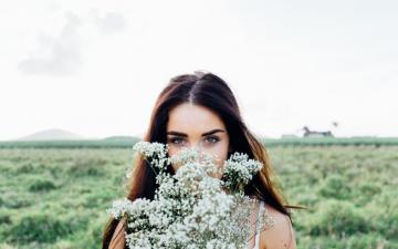 漂亮时尚的御姐,高清壁纸图片,清纯美女-好运图库