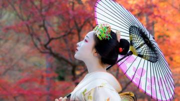 艺伎回忆录,高清壁纸图片,日韩美女-好运图库