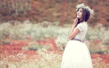 寂静流年遍开花,高清壁纸图片,清纯美女-好运图库