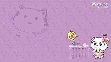 叮当猫可爱卡通2012年月历,高清壁纸图片,卡通明星-好运图库