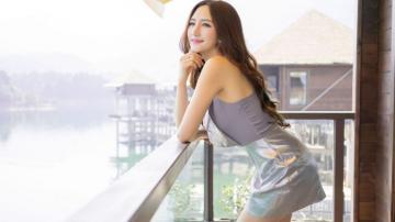 胸模王明明旅游时尚魅力写真,高清壁纸图片,大陆美女-好运图库