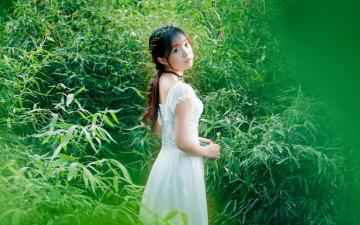 气质温柔的森系女生