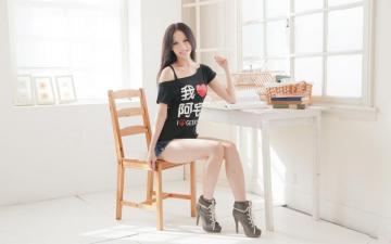 小清新居家台湾美女写真,高清壁纸图片,港台美女-好运图库