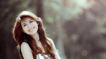 最美丽的女孩高清壁纸图片-好运图库