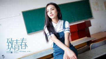 致青春毕业季,高清壁纸图片,清纯美女-好运图库