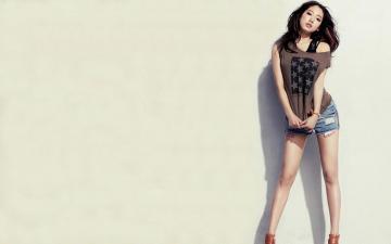 朴信惠优雅时尚写真,高清壁纸图片,日韩美女-好运图库
