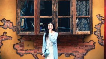 天然氧气美女气质街拍写真,高清壁纸图片,大陆美女-好运图库
