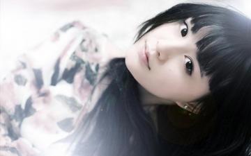 清纯唯美美女写真,高清壁纸图片,大陆美女-好运图库