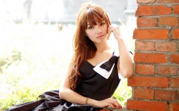 台湾气质美女小品户外摄影,高清壁纸图片,港台美女-好运图库