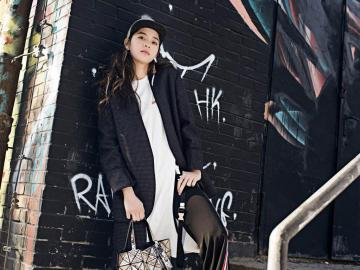 甜美美女欧阳娜娜气质街拍,高清壁纸图片,大陆美女-好运图库