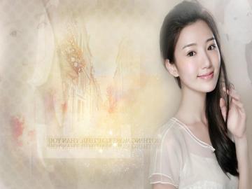 清纯可爱的美女毛晓彤,高清壁纸图片,大陆美女-好运图库