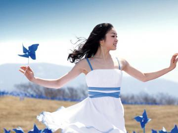 韩国艺术体操美女孙妍在,高清壁纸图片,日韩美女-好运图库