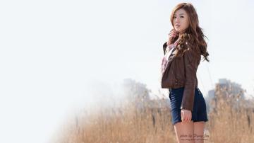 韩国第一车模黄美姬,高清壁纸图片,日韩美女-好运图库
