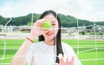 网球少女,高清壁纸图片,大陆美女-好运图库