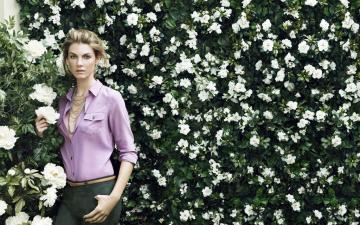 气质优雅的模特,高清壁纸图片,欧美美女-好运图库