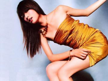 台湾第一名模林志玲,高清壁纸图片,港台美女-好运图库