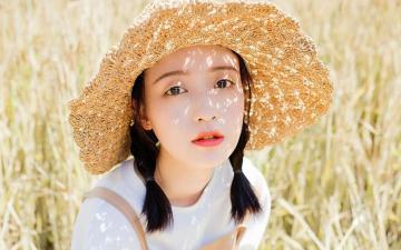 小清新田园风美少女写真,高清壁纸图片,大陆美女-好运图库