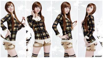 韩国车模,高清壁纸图片,日韩美女-好运图库