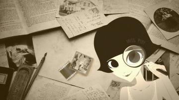 时尚精灵泡芙小姐,高清壁纸图片,矢量图-好运图库