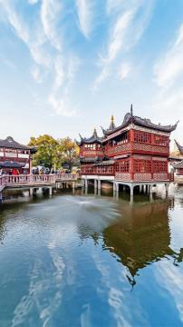 上海豫园高清手机壁纸-好运图库