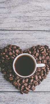 爱的咖啡,幸福的感觉高清手机壁纸-好运图库