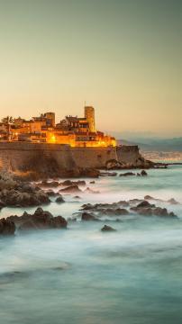 法国蔚蓝海岸之昂蒂布高清手机壁纸-好运图库