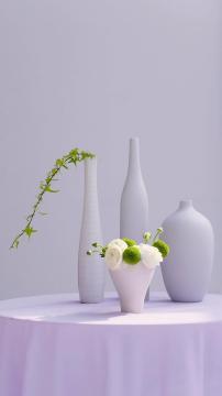 鲜花与花瓶的搭配技巧,锁屏图片,高清手机壁纸,另类-好运图库