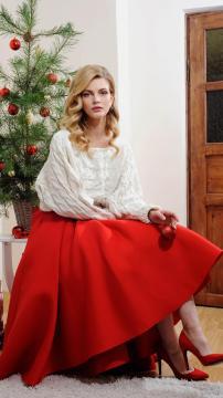 小红裙就是焦点,锁屏图片,高清手机壁纸,非主流-好运图库
