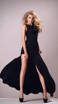 黑色连衣裙,锁屏图片,高清手机壁纸,非主流-好运图库