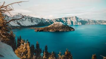 一个世界最清澈的湖泊,令人为之倾迷,高清壁纸,风景图片-好运图库