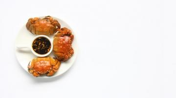 大闸蟹-美食壁纸-好运图库