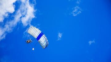 高空跳伞玩的就是心跳,高清壁纸,摄影图片,静物写真-好运图库